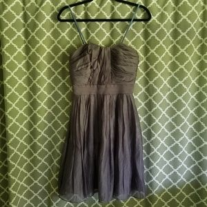 Suzi Chin For Maggys Boutique Pewter Dress